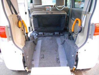 タント スローパーリヤシート付仕様 福祉車両