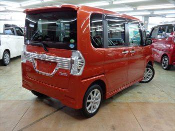 タントカスタム X SAⅡ 4WD