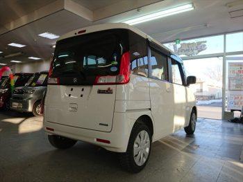 スペーシア G デュアルカメラブレーキサポート装着車 4WD