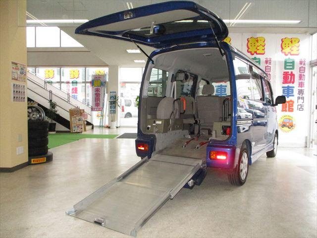 アトレーワゴン スローパーリヤレス仕様+補助シート  ターボ  4WD