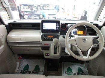 スペーシア ハイブリッドX デュアルセンサーブレーキ 4WD