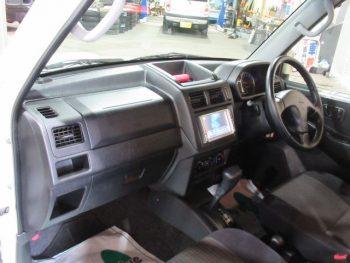 パジェロミニ アクティブフィールドED ターボ 4WD