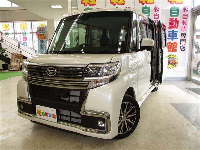 タントカスタム X トップエディション SAⅡ 4WD