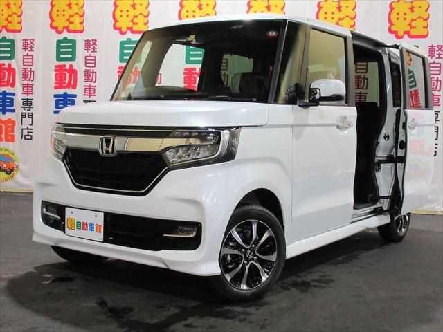 N-BOXカスタム カスタムG・L ホンダセンシング  4WD
