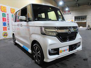 N-BOXカスタム カスタムG・L ホンダセンシング 未使用車 4WD