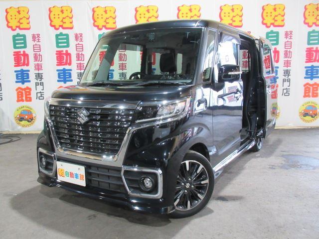 スペーシアカスタム HV XSターボ 全方位モニター用カメラパッケージ装着車 4WD