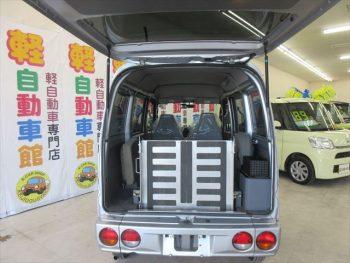ミニキャブバン  福祉車両  スローパー 車いす移動車  4WD