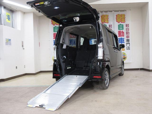 N-BOX+カスタム G 車いす仕様車 福祉車両 4WD