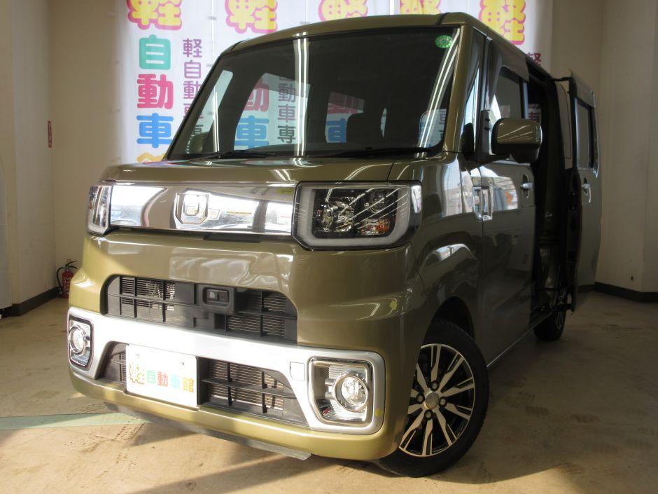 ウェイク XファインセレクションSA ターボ 4WD