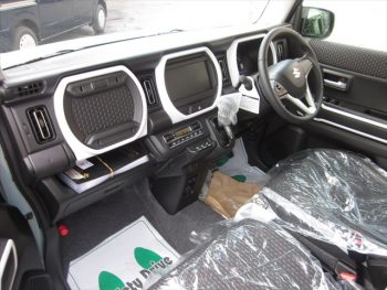 ハスラー ハイブリッド X スズキセーフティサポート 未使用 4WD