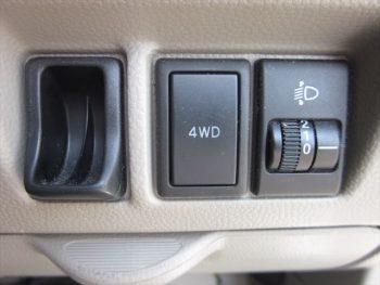 エブリイワゴン 車いす移動車 後部電動固定 リヤシート付 4WD 福祉車両 スローパー