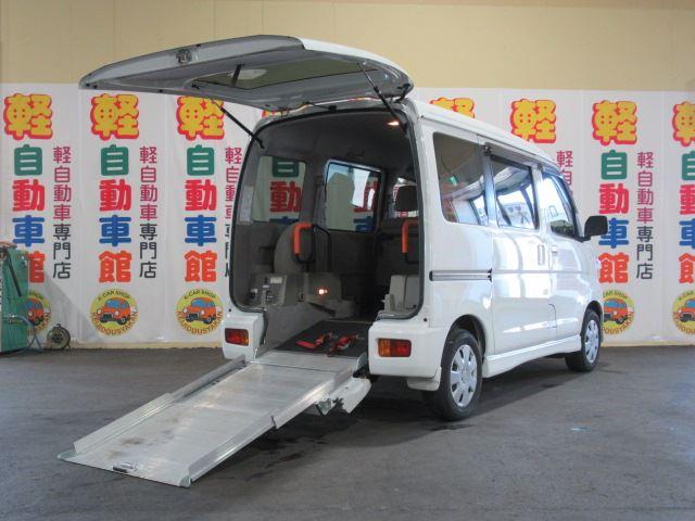 アトレーワゴン スローパー  ターボ 福祉車両 4WD