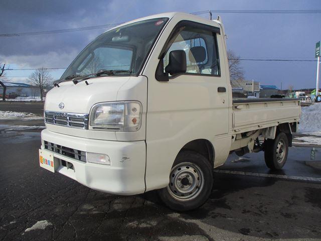 ハイゼットトラック エクストラ エアコン・パワステ付 4WD