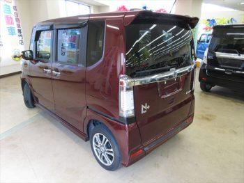N-BOX+カスタム GターボAパッケージ 車椅子仕様車・福祉車両 スローパー 4WD