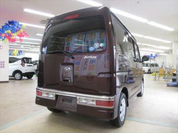 アトレーワゴン カスタム ターボR 4WD