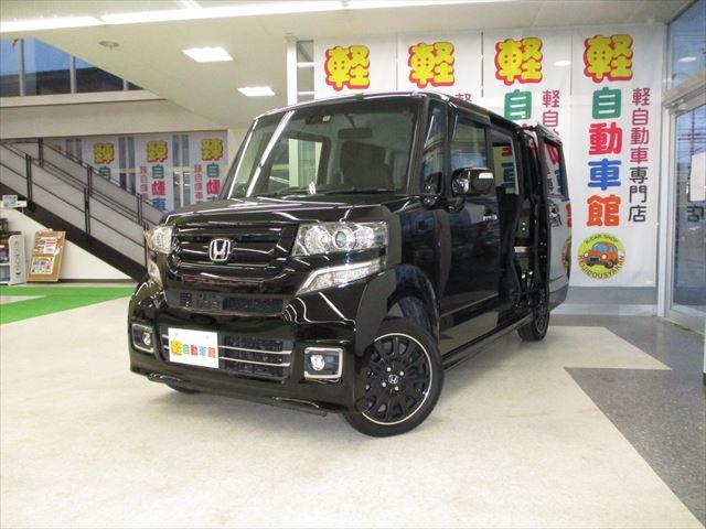 N-BOXカスタム ターボSSブラックスタイルPKG 4WD