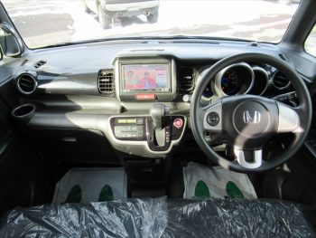 N-BOX+カスタム G 車いす移動車 福祉車両 スローパー 4WD
