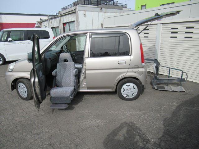 ライフ アルマス 福祉車両 助手席回転シート 4WD