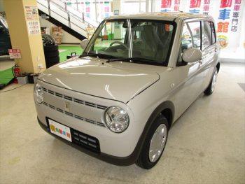 アルトラパン G セーフティサポート 登録済未使用車 4WD
