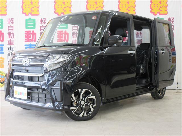 タントカスタム X 純正ナビ装着用アップグレードパック 未使用車 4WD
