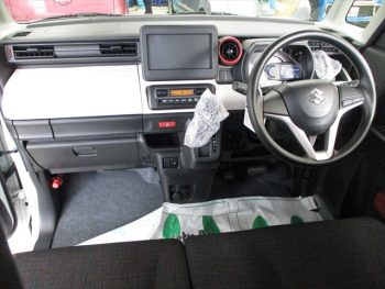 スペーシア ハイブリッド G セーフティサポート 登録済未使用車 4WD