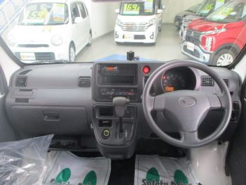 ハイゼットカーゴバン 2シーターブラインド仕様 ハイルーフ 4WD