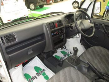 スクラムトラック エアコン・パワステ 4WD
