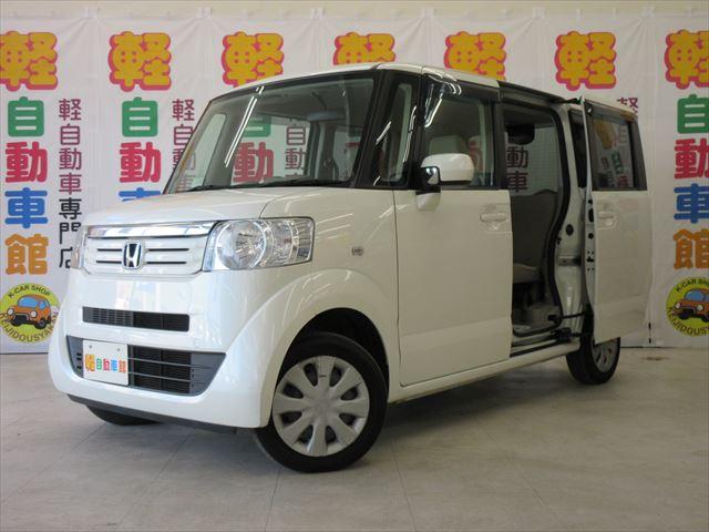 N-BOX+ G 車いす仕様車 スローパー・リヤシート付 福祉車両 4WD