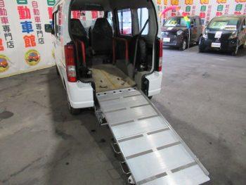 エブリイワゴン 車いす移動車 福祉 スローパー 4WD