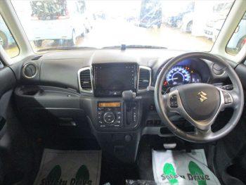 スペーシアカスタム XSターボ デュアルカメラブレーキサポート 全方位モニター付 ナビ TV 4WD
