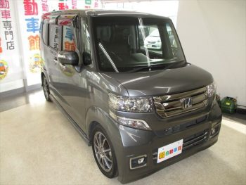 N-BOX+カスタム G ターボ Lパッケージ 4WD