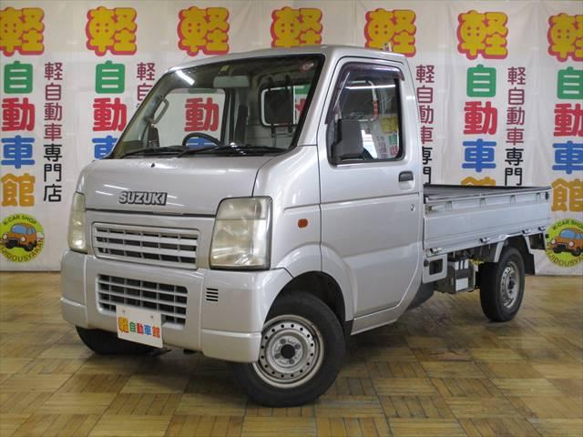 キャリイトラック KCエアコン・パワステ オートマ 4WD