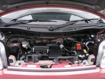 スペーシア ハイブリッドX ブレーキサポート非装着車 4WD