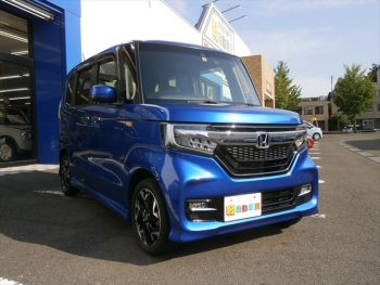 N-BOXカスタム G・EXターボ ホンダセンシング 4WD