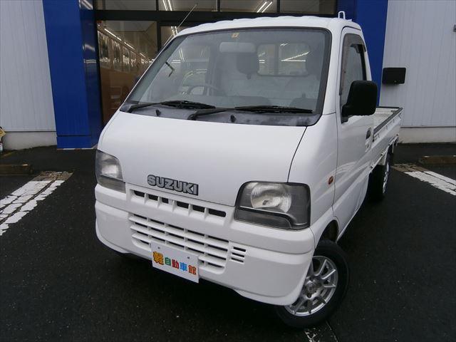 キャリイトラック KU 三方開 パワステ付 4WD