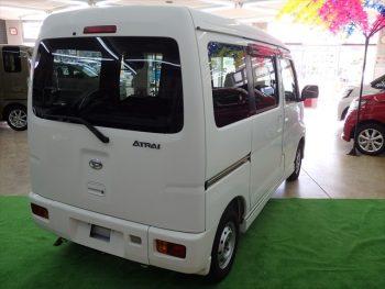 アトレーワゴン スローパーリヤレス仕様+補助シート 福祉車両 4WD
