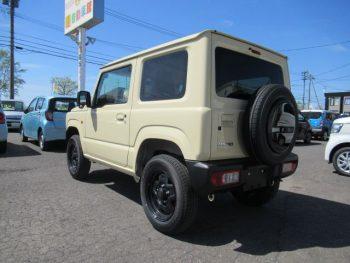ジムニー XL セーフティサポート 未使用車 5MT フロアマット付  4WD